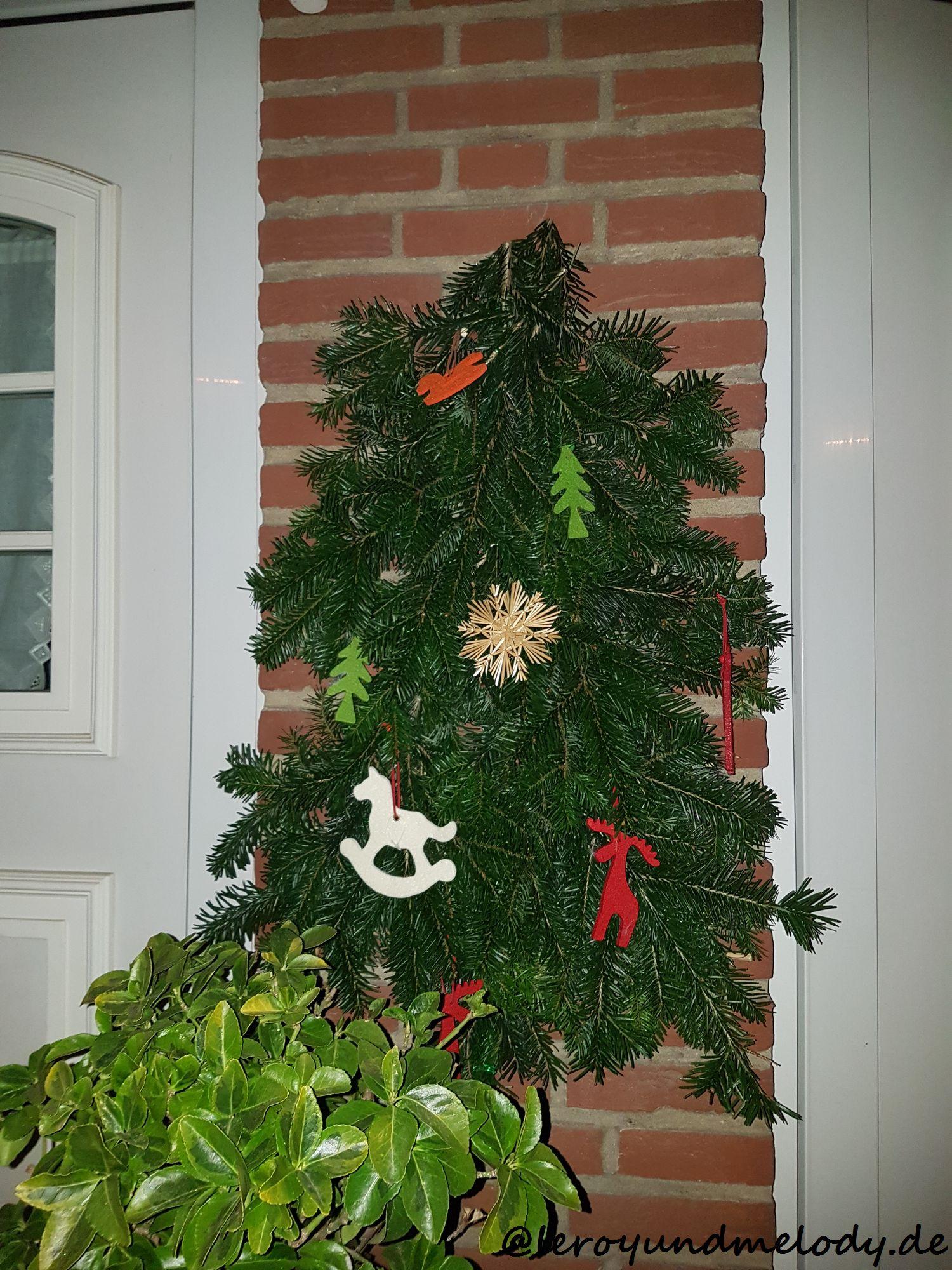 Basteln Mit Frauchen Weihnachtsbaum Zum Aufhängen Leroy Und
